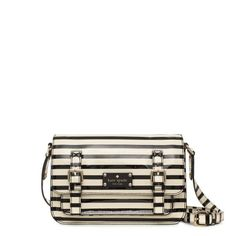 kate spade | striped scout bag
