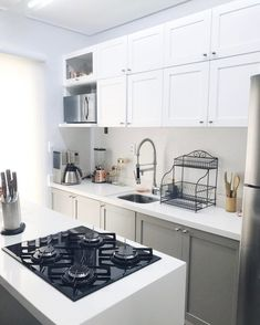 Kitchen Cabinet Refacing Ideas to bring your cabinets back to life. Kitchen Cabinets, Small Kitchen, Farmhouse Style Kitchen, Kitchen Places, Home Kitchens, Refacing Kitchen Cabinets, Cute Kitchen, Kitchen Style, Kitchen Design