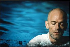 Michael Stipe. For his voice, words...