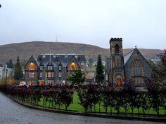 Fort William in the gloamin' ... Inverness-shire, Scotland