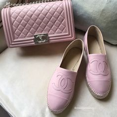 Chanel is my fashion drug Chanel Espadrilles, Chanel Shoes, Chanel Pink, Chanel Boy, Coco Chanel, Fashion Drug, Fashion Shoes, Ladies Fashion, Luxury Bags