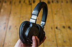 """The folks at Pocket-Lint have been hands-on with the ATH-MSR7 High-Resolution Audio Headphones for a few weeks now, and have published an extensive review on our Hi-Res Audio offering: """"Whether you're listening to regular MP3s from your smartphone, vinyl via an amp, or hi-res audio from a dedicated player, the Audio-Technica ATH-MSR7 over-ears will cater for all."""""""