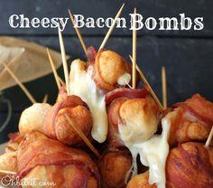 DIY Cheesy Bacon Bombs