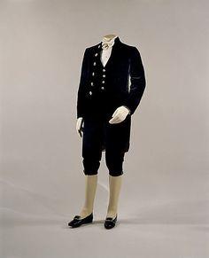Gentlemen's Court Presentation Suit, British, 1877.