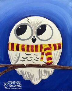 Baby Hedwig Owl Source by mmdrgrant Harry Potter Canvas, Harry Potter Painting, Harry Potter Owl, Harry Potter Artwork, Harry Potter Wallpaper, Harry Potter Birthday Cards, Harry Potter Classroom, Owl Canvas, Halloween Disfraces
