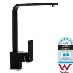 Modern Black Kitchen Laundry Bathroom Sink Mixer Tap Faucet Square in Home & Garden, Building Materials & DIY, Plumbing & Fixtures   eBay