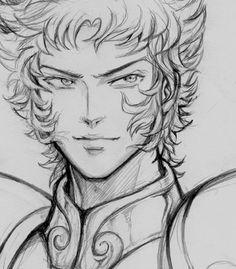 Shura Capricorn - Sketch by ShandyRp.deviantart.com on @deviantART