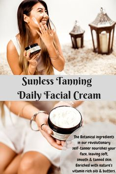 Achieve the tropical tone you desire while nourishing your skin with our revolutionary healthy sunless tanner! Diy Beauty, Beauty Makeup, Beauty Hacks, Beauty Tips, Just Natural Products, Palmarosa Essential Oil, Facial Cream, Skin Firming, Young Living Essential Oils