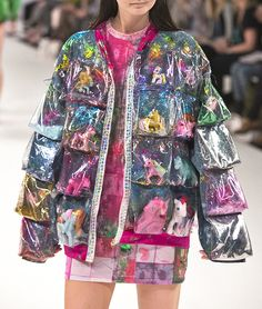 "fashionbitchnumber1: "" $ NICE JACKET ON THE RUNWAY $ """