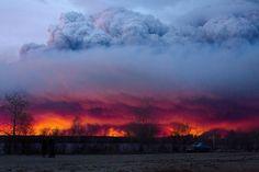 Canada: Cháy rừng thảm họa lan ra phía nam