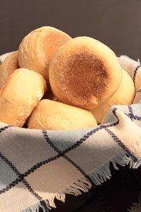 English Muffins ~ Un pellizco de canela