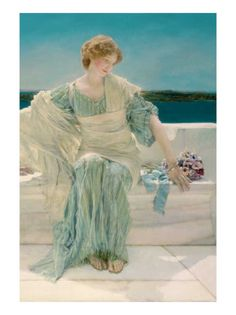Ask Me No More, 1906  Lawrence Alma-Tadema