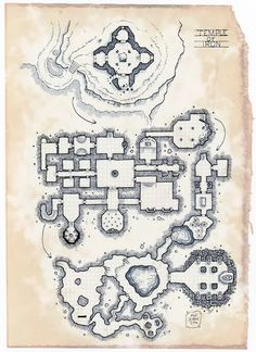 [Map] The Temple of Iron