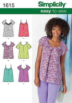 Free Sewing Vest Patterns Easy | Simplicity 2283 - Misses' Knit ...