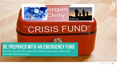 Crisis Fund is not THE Plan B!! Always keep an emergency fund to balance your investments. Learn how to follow the magical rules using the insights provided by our platform – www.thefundoo.com