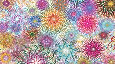 Artistic Psychedelic  Wallpaper
