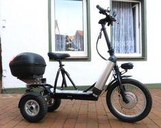 Lyric K535 Ranger mit 2 Akkus, einem K735 Motor und drei Geschwindigkeitsstufen. Elektro-Dreirad...,e-Bikebord - Elektro-Scooter Lyric Ranger,  K735 Motor in Niedersachsen - Soltau
