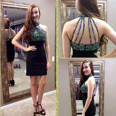 Black Classy Homecoming Dress,Sexy Party Dress,Charming Homecoming Dress,Graduation Dress,Homecoming Dress