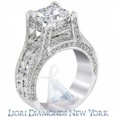 White Princess Diamond Engagement Ring 3.34 Ct Diamond Black Silver Ring New Possessing Chinese Flavors Diamond