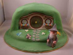 Hobbit Cake - by CathysCakes @ CakesDecor.com - cake decorating website