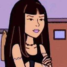 Daria Show, Daria Mtv, Daria Characters, Cartoon Characters, Types Of Drawing Styles, Early 2000s Cartoons, Chicas Punk Rock, Instagram Cartoon, Grunge