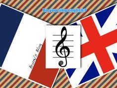 Entre le français et l'anglais il y a la musique