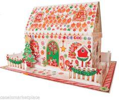 Caspari Gingerbread House 3 D Hanging or Standing Christmas Advent Calendar | eBay