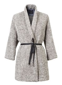 """T-Jacket AW 2016-2017 Coat """"Soft Grey"""". Discover the new collection on www.tonello.net"""