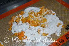 Más allá del gluten...: Arepas de Calabaza (Receta GFCFSF, Vegana) Sin Gluten, Crepes, Grains, Tortillas, Food, Healthy Cake, Healthy Living, Vegan Pot Pies, Drinks