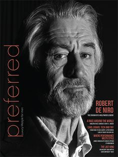Fall 2014  Robert De Niro