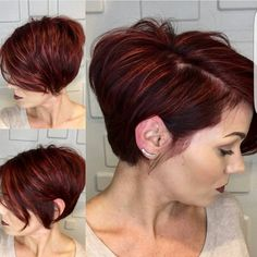 "1,980 Likes, 24 Comments - Short Hairstyles   Pixie Cut (@nothingbutpixies) on Instagram: ""Love when people send multi angles like @kiss_and_makeup05  Who loves her cut Who loves her color…"""