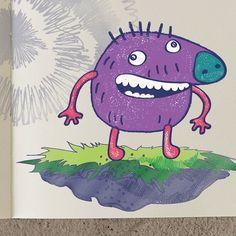 Most famous Doodler ⭐️ #art #illustration #sketch #sketchbook #doodle #doodleart #game #indiegame #monster #escapedoodland #gamedev #drawing #draw #drawings