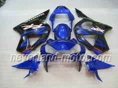 Carenado de ABS de Honda CBR900RR 954 2002-2003 - Azul/Negro