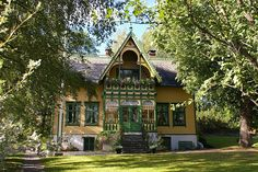 Voss - Norwegian house by Percita, via Flickr