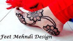 #hennatattooideas #hennalove Feet Mehndi Design | Legs Henna | Feet Tattoo | Gulf Style Feets - Naush Artistica