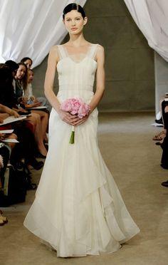 Carolina Herrera Fall 2012 Bridal