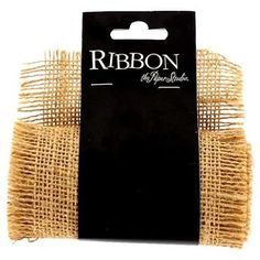 """Decorating your floral arrangements, gifts, crafts, and more is easy with this 4"""" Natural Burlap Frayed Ribbon. This natural burlap ribbon features frayed edges that are soft to the touch. Embellish this ribbon with lace for an elegant vintage touch.        Ribbon Details:      Ribbon Width: 4""""    Ribbon Type: Burlap    Spool Length: 1 Yard"""