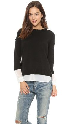 Brochu Walker Looker Crew Neck Sweater