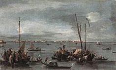 Francesco Guardi 1712-1793 Lagoon
