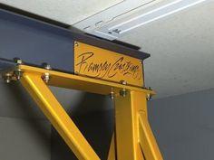 Home Built Gantry Crane Part 2 - The Erection! - YouTube