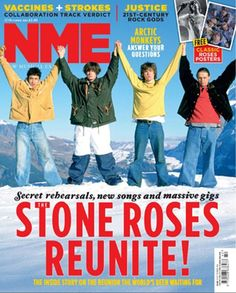The Stone Roses confirm reunion and two homecoming shows for 2012 Primal Scream, Quiz Me, Stone Roses, The Reunion, Britpop, Rose Art, Too Cool For School, Kinds Of Music, Music Quotes