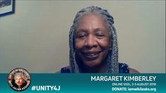 02 Margaret Kimberley Speaks In Support of Julian Assange FULL . Columnist, Hold On, Interview, The Unit, Naruto Sad
