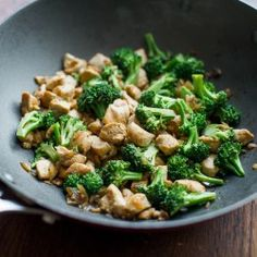 Healthy Chicken Broccoli Stir Fry. Really good! I added bell pepper to it and used red wine vinegar...really good and easy!