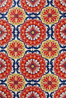 Love these colors!...mexican tiles