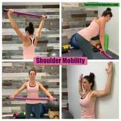 Shoulder Pain and Shoulder Mobility 👇🏽 4 key movements to try. Frozen Shoulder Exercises, Shoulder Rehab Exercises, Shoulder Workout, Shoulder Tendonitis Exercises, Sore Shoulder, Shoulder Pain Relief, Neck And Shoulder Pain, Frozen Shoulder Pain, Frozen Shoulder Treatment