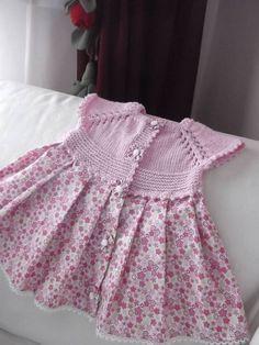 Örgü Kız Çocuk Ve Bebek Elbiseleri - Vazgecmem.NET