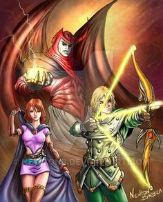 Dungeons and Dragons by newtonb on DeviantArt