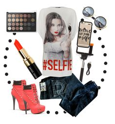 """Selfie Alert"" by two-faced-honey on Polyvore"