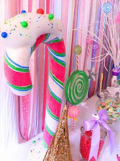 Christmas Candyland Theme Party.Pinterest