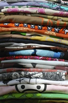 50 ways to recycle a teeshirt!